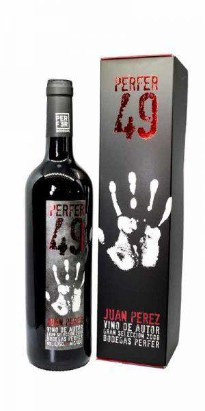 Botella Vino Perfer 49