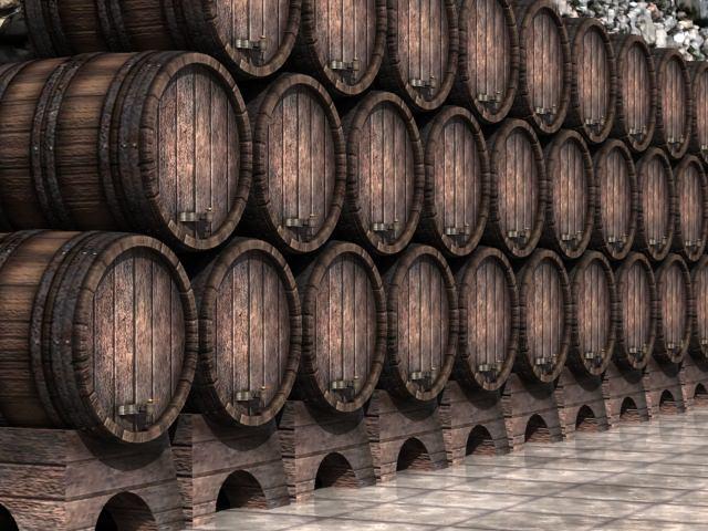 Tipos de barriles de vino